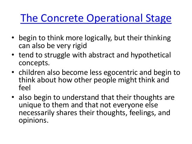opinions on piaget cognitive development theory Piaget's stage theory of development  during this time, piaget said that a  child's cognitive system is limited to motor reflexes at  preoperational chldren  can use these representational skills only to view the world from their own  perspective.