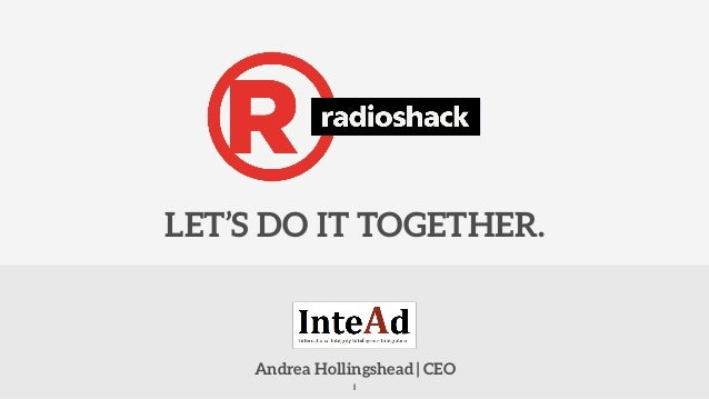 Andrea Hollingshead | CEO LET'S DO IT TOGETHER. 1