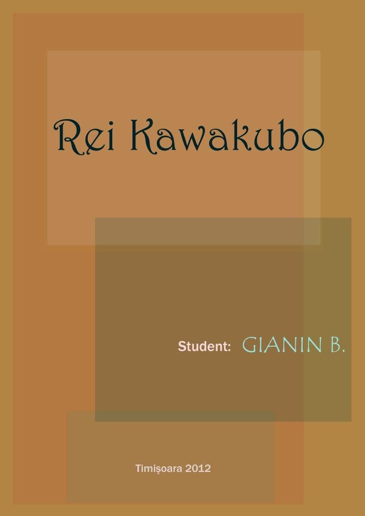 Pdf rei kawakubo