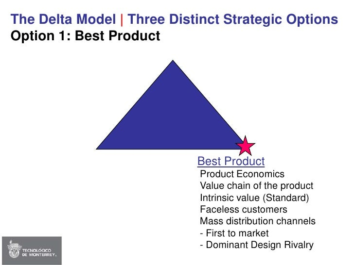 You Have to Choose Between only Three Strategic Options