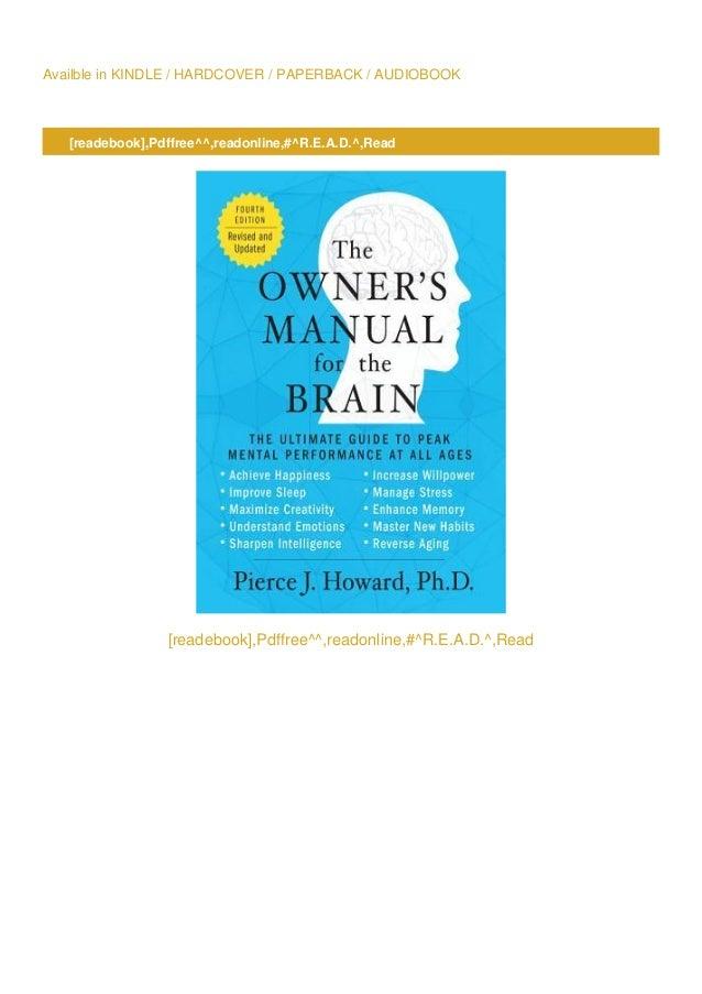 Biology The Human Brain Manual Guide