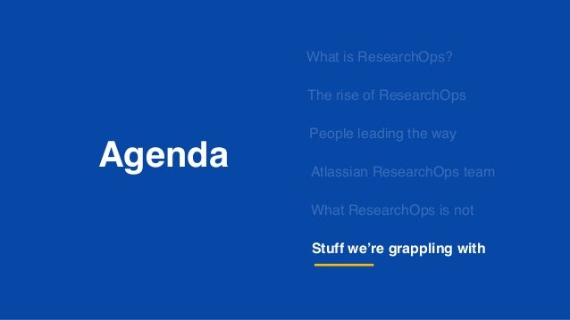 What is ResearchOps?