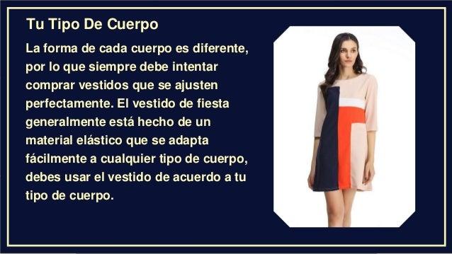 37f65f414 Consejos Para Comprar Un Vestido De Cóctel