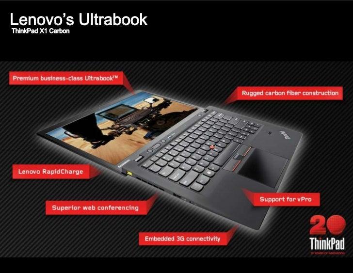 Lenovo's UltrabookThinkPad X1 Carbon
