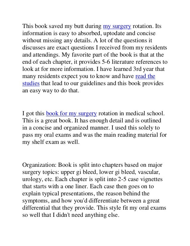 Best surgery books for mbbs pdf med surg book 4 fandeluxe Images