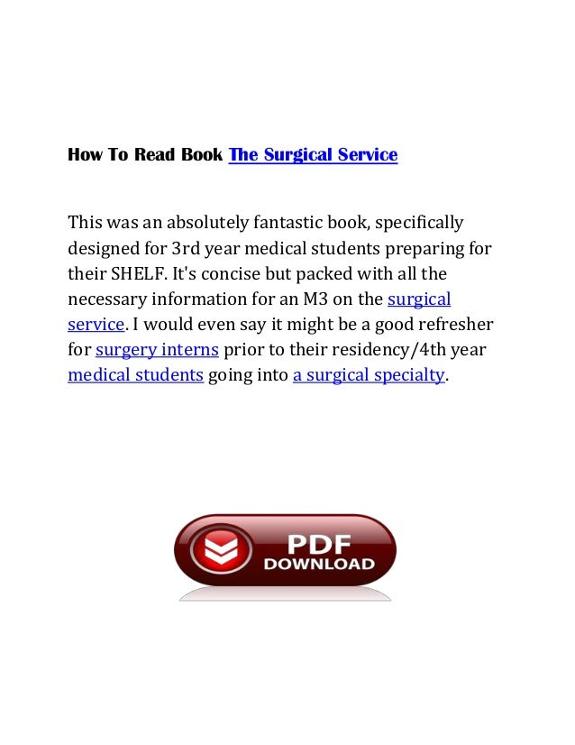 Best surgery books for mbbs pdf med surg book 7 fandeluxe Images