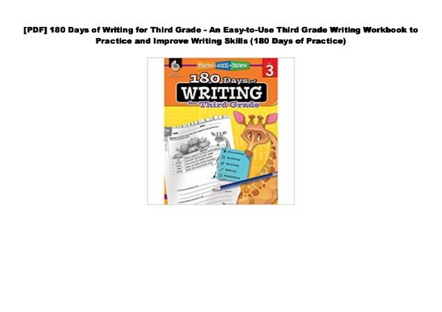 Download] 180 Days of Writing for Third Grade - An Easy-to