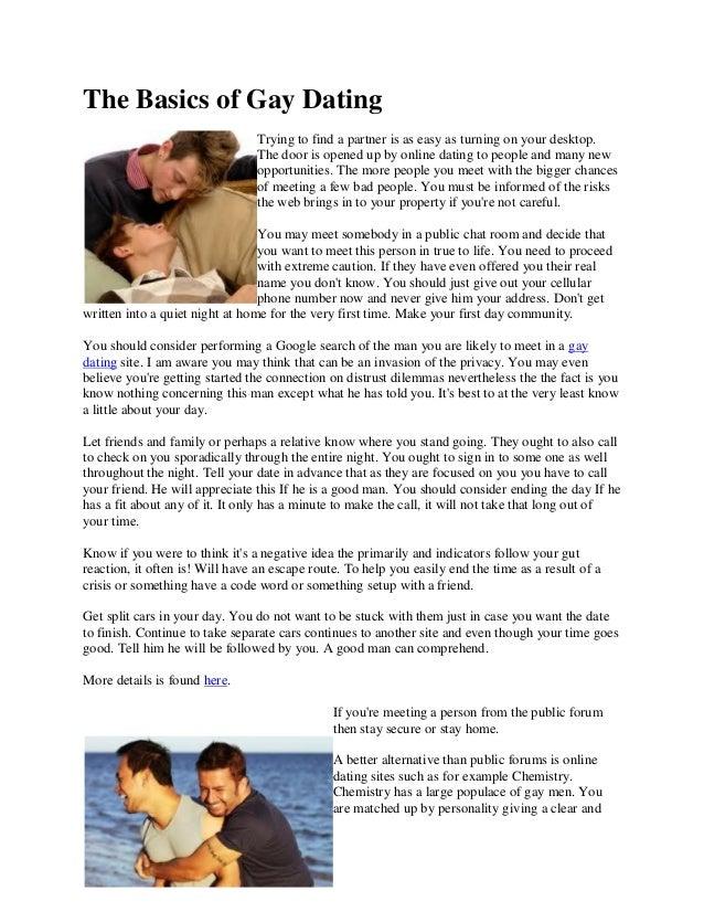 chemistry gay dating