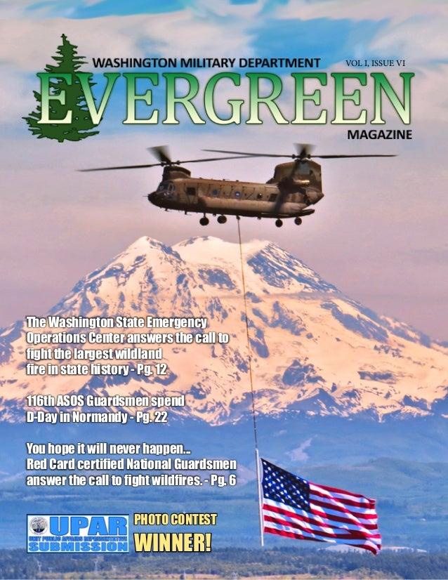 Evergreen magazine september 15 2014 for Evergreen magazine