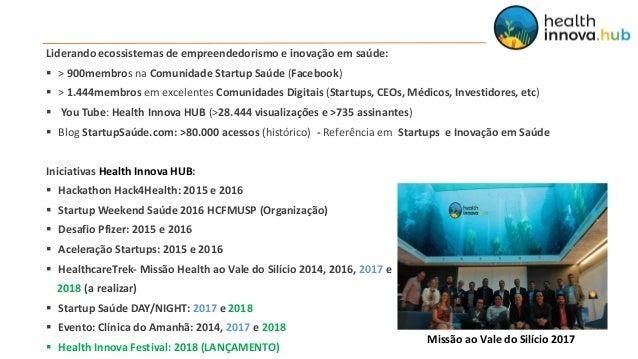 Apresentação Health Innova HUB (Abril/18) Slide 3