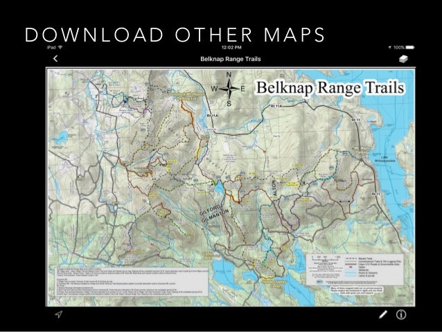Adding GPS Smartphone Apps To Map And Compass For Backcountry Navigat - Trail map apps