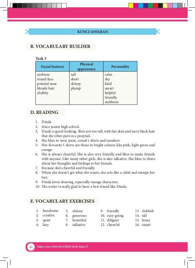 Kunci Jawaban Buku Paket Bahasa Inggris Kelas 10 Kurikulum ...
