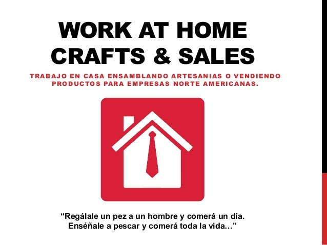 work at home crafts u sales trabajo en casa