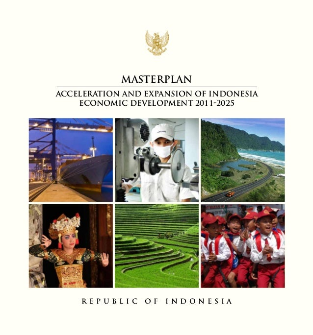 Masterplan ACCELERATION AND EXPANSION OF INDONESIA ECONOMIC DEVELOPMENT 2011-2025  R EPUBLIC  OF  I ND ON ES IA