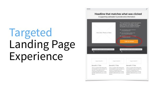 Targeted Landing Page Experience