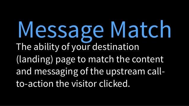 Perfect Message Match