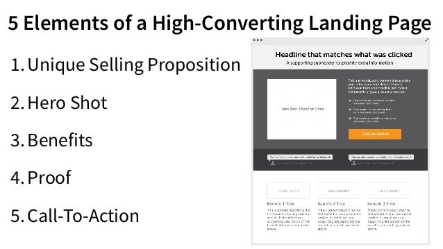 5. The Call-To-Action (Conversion Goal) Image credit: PatioTuerca