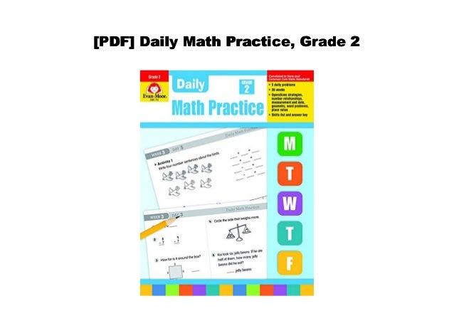 PDF] Daily Math Practice, Grade 2