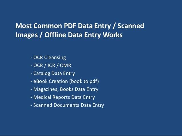 DATA ENTRY PDF BOOK PDF