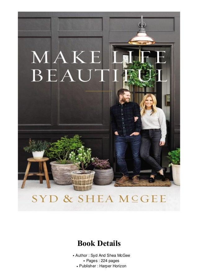 Make Life Beautiful PDF Free Download
