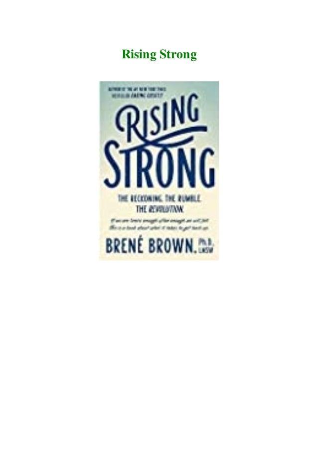 Rising strong pdf free download free