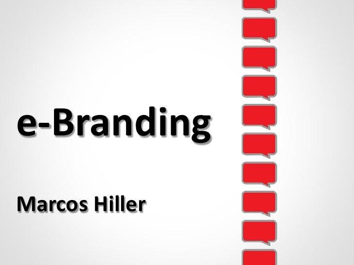 e-Branding Marcos Hiller