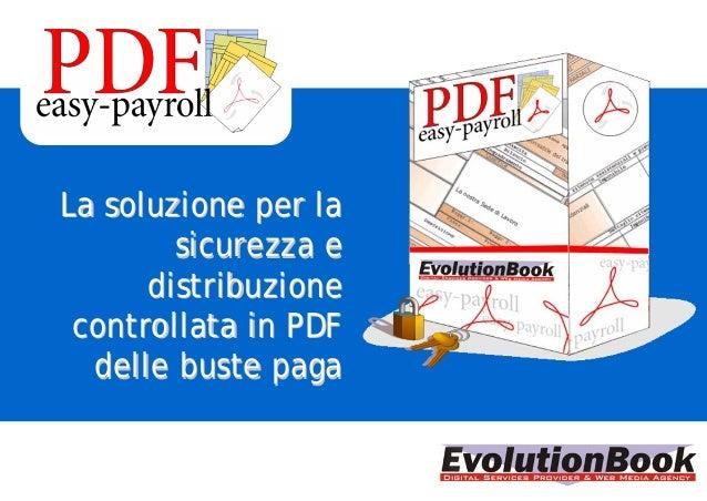 La soluzione per laLa soluzione per la sicurezza esicurezza e distribuzionedistribuzione controllata in PDFcontrollata in ...