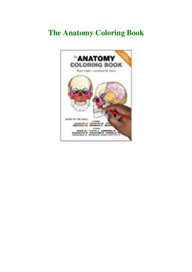 PDF EBOOK DOWNLOAD The Anatomy Coloring Book FREE~DOWNLOAD