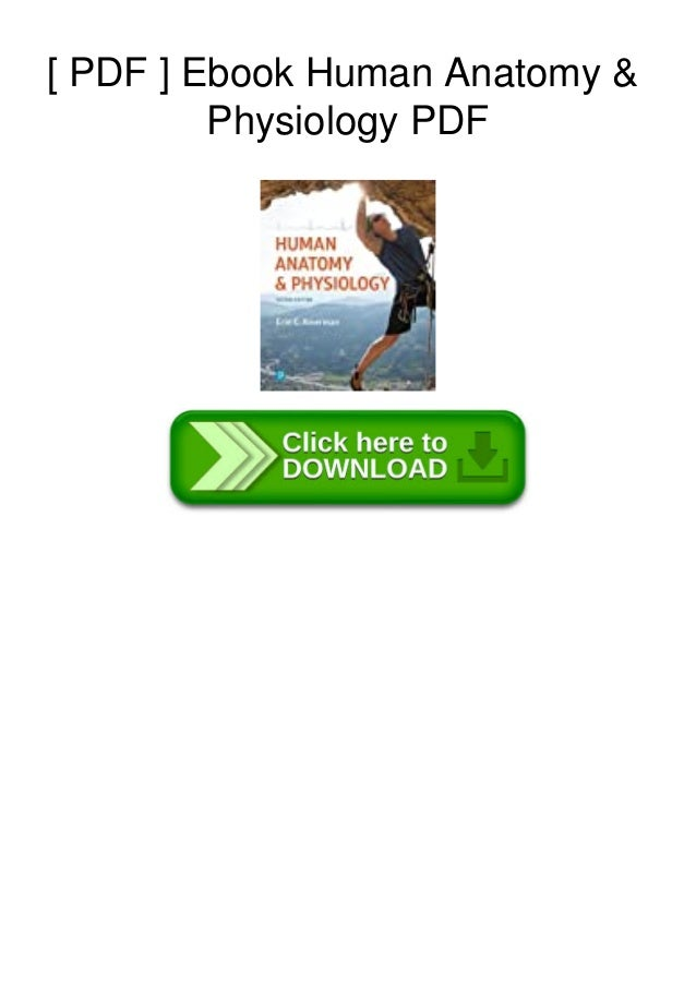 [ PDF ] Ebook Human Anatomy & Physiology PDF