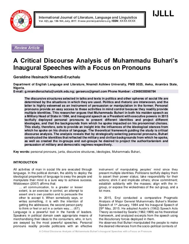 Phd thesis on critical discourse analysis