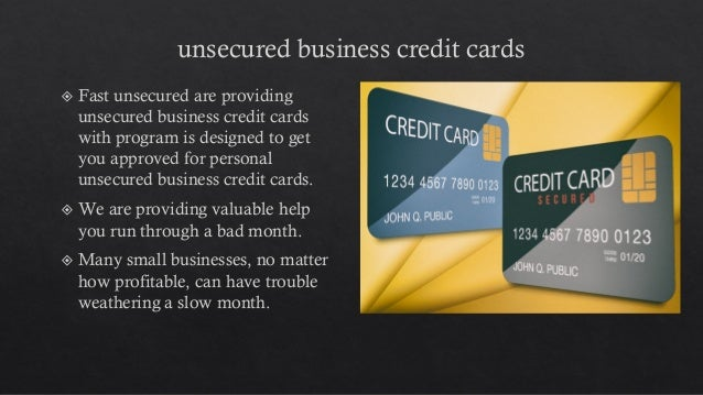 Aged corporations 3 unsecured business credit cards reheart Image collections