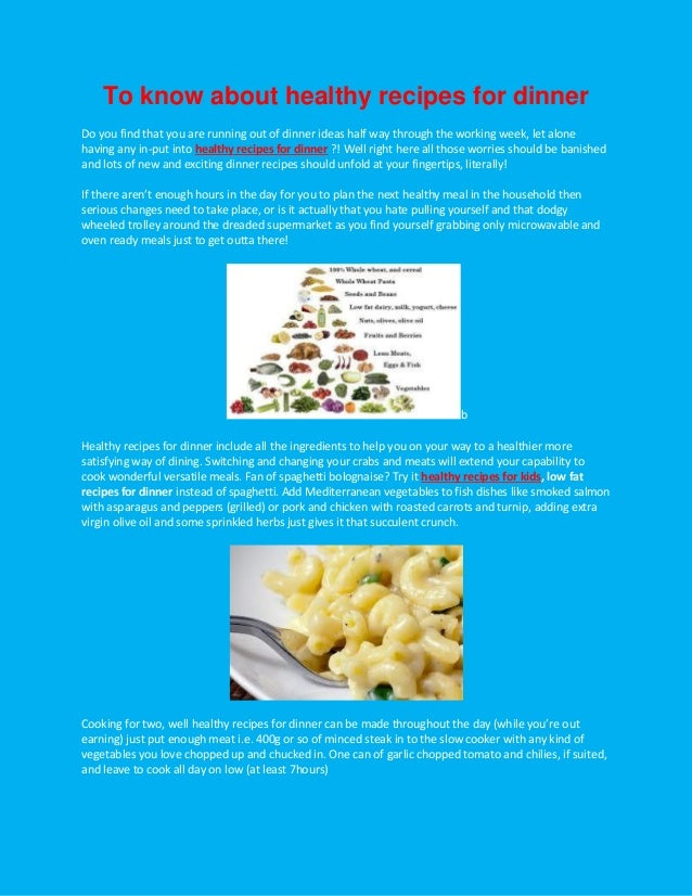 Pdf for cooking craze to know about healthy recipes for dinner do you find that you are running out of forumfinder Image collections