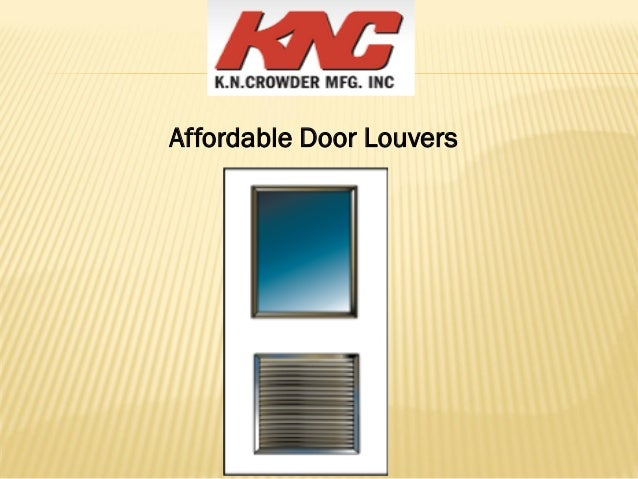 Affordable Door Louvers