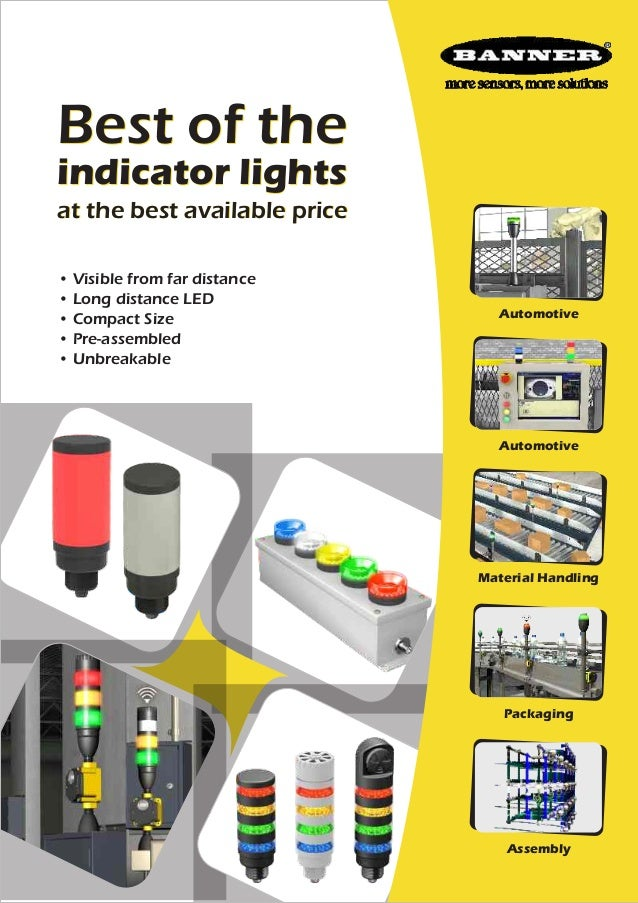 Best of the indicator lights at the best available price • Visible from far distance • Long distance LED • Compact Size • ...