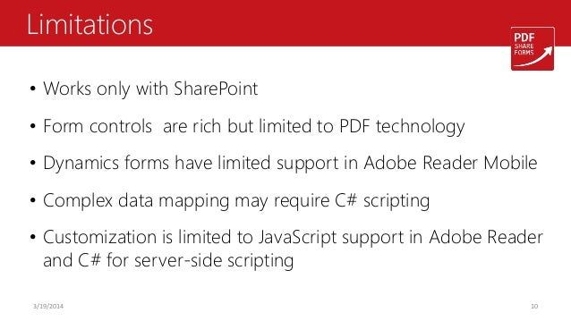 Microsoft Retires InfoPath  The business case for PDF Forms