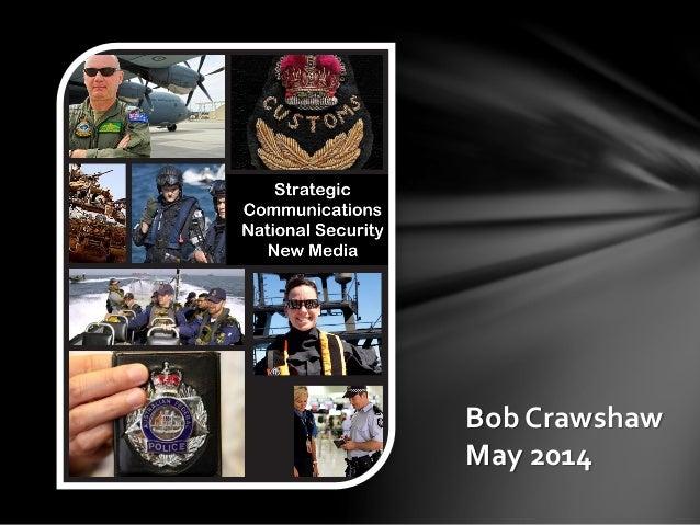 Bob Crawshaw May 2014