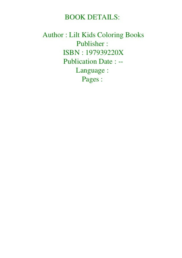 Pdf Free Big Coloring Book Of Large Print Patterns Premium Adult Col