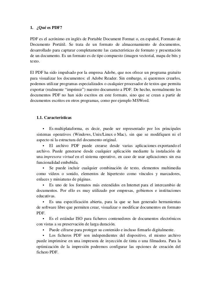 Utilidades para PDF I