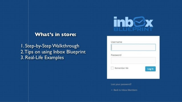 Inbox blueprint members area walkthrough and review malvernweather Choice Image