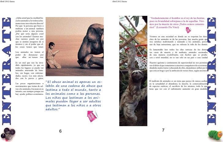 Abril 2012 fauna                                                                              Abril 2012 faunaEnterate    ...