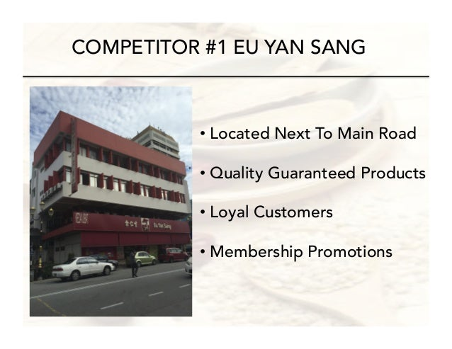 grand strategy of eu yan sang Strength and weakness of eu yan sang are also included in the internal part of the organization that is also analyzed to assess stability of the firm in the international market.