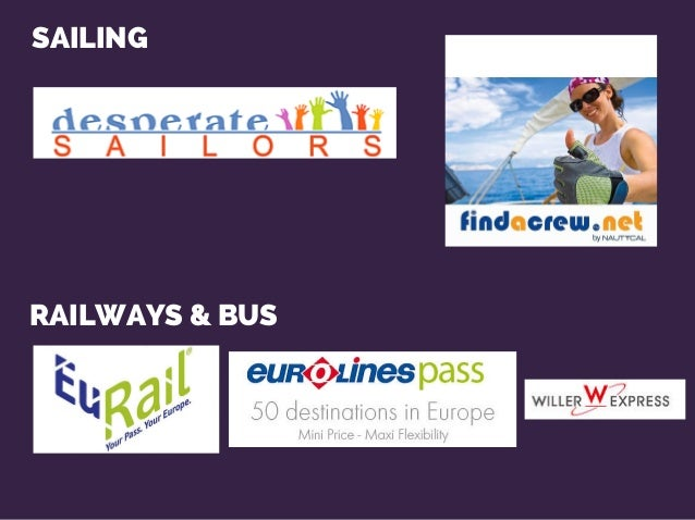 SAILING RAILWAYS & BUS