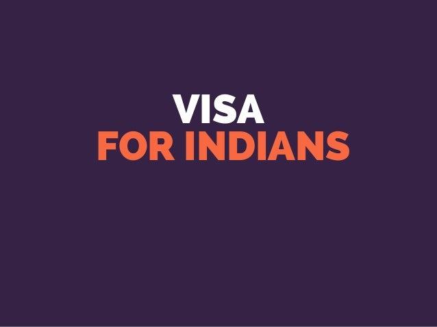 VISA FOR INDIANS