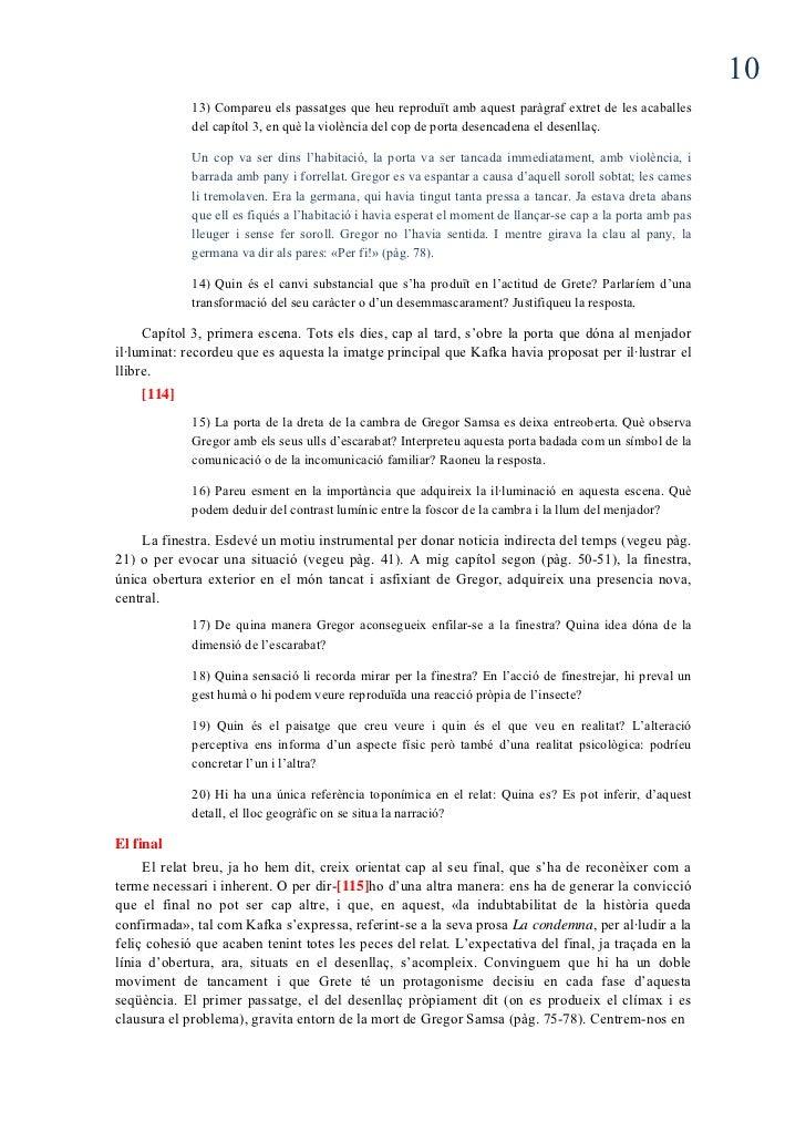 la metamorfosis de kafta pdf