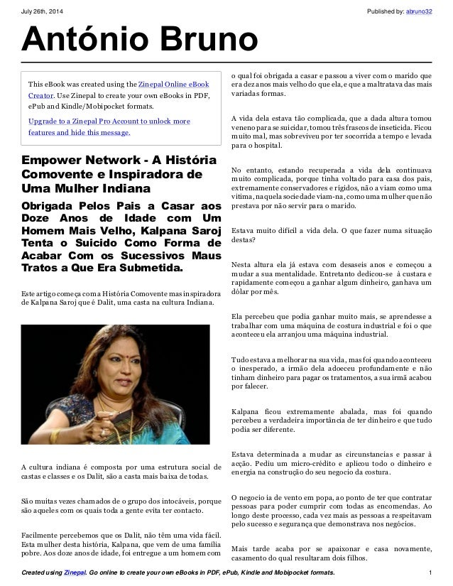 July 26th, 2014 Published by: abruno32 Created using Zinepal. Go online to create your own eBooks in PDF, ePub, Kindle and...
