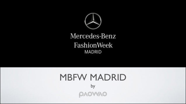 Mercedes Benz Fashion Week 2015 Event Proposal