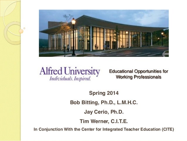 Educational Opportunities for 