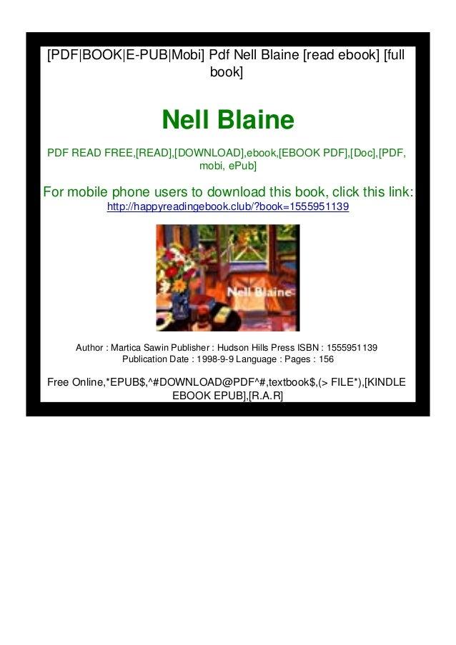 [PDF|BOOK|E-PUB|Mobi] Pdf Nell Blaine [read ebook] [full book] Nell Blaine PDF READ FREE,[READ],[DOWNLOAD],ebook,[EBOOK PD...