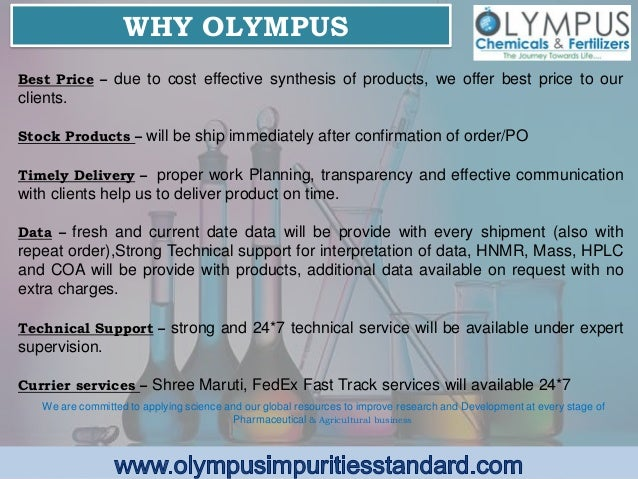 Pdf Olympus Impurities Finasteride Impurity