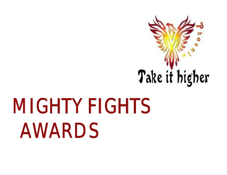 MIGHTY FIGHTS AWARDS